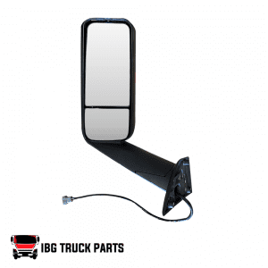 DOOR MIRROR CHROME LH FREIGHTLINER CASCADIA 2018-ON
