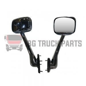 FREIGHTLINER CASCADIA  HOOD MIRROR RH COMPLETE CHROME