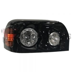 FREIGHTLINER CENTURY HEADLAMP RH W/BLACK COVER HOUSING
