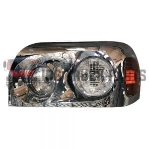 FREIGHTLINER CENTURY HEADLAMP LH W/CHROME COVER HOUSING
