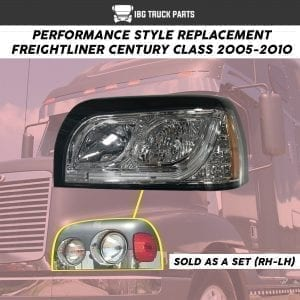FREIGHTLINER CENTURY HEADLAMP PERFORMANCE LED SET (RH/LH)