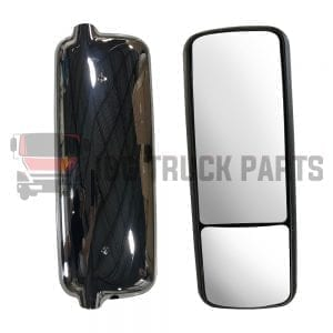 FREIGHTLINER CENTURY MIRROR  LH  WITH  CHROME COVER
