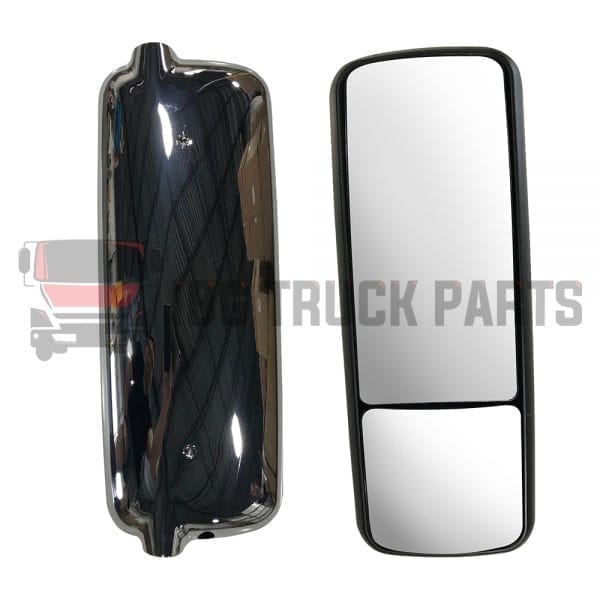 2005-2010 FREIGHTLINER CENTURY, MIRROR LH WITH CHROME COVER
