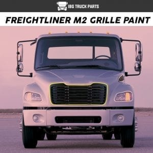 FREIGHTLINER M2 GRILLE PAINT BLACK