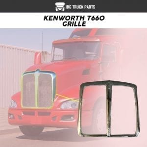 KENWORTH T660 GRILLE W/O BUG SCREEN