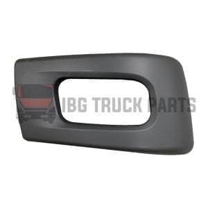 SIDE BUMPER W/HOLE RH, MITSUBISHI FUSO-CANTER 2010-2020 (NARROW CABIN) 18 INCHES LONG