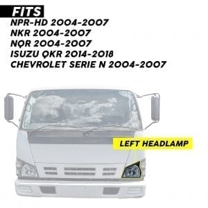 2004-2007 ISUZU NPR/NPR-HD, HEADLIGHT LH