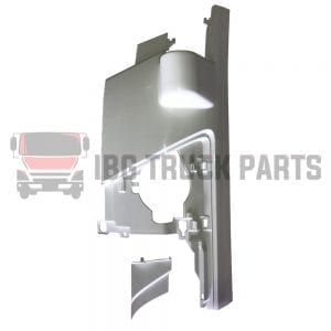 ISUZU  NKR/NPR/NPR-HD  CORNER PANEL W/ MIRROR ARM HOLE & COVER WHITE  LH (2008-ON)
